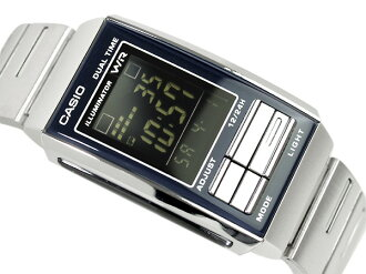 Casio overseas model Futurist ladies Digital Watch Black / Black LA-201W-1B