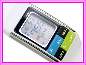 Casio ポップトーン international model ladies digital watch white urethane belt LDF-50-7DR