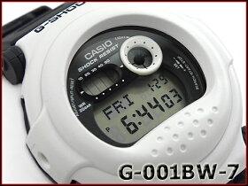 【ポイント2倍!!+全商品送料無料!!】G-SHOCKGショックジーショックカシオCASIO限定モデルジェイソンJaisonWhiteandBlackSeriesホワイト&ブラックシリーズデジタル腕時計ブラックホワイトG-001BW-7CRG-001BW-7