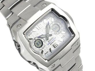 CASIO G-SHOCKカシオ Gショック アドバンスドデザイン 海外Model C3アナデジWrist watch SilverDial Metal belt G-011D-7B