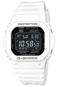 カシオGショックCASIOG-SHOCKジーショックデジタルソーラー電波メンズ腕時計ホワイトブラックペアモデルGW-M5610MD-7JF国内正規品
