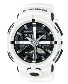 【ポイント2倍!!+全商品送料無料!!】カシオCASIOG-SHOCKカシオGショックスポーティデザインワイドフェイスアナデジメンズ腕時計ホワイト×ブラックGA-500-7AJFGA-500-7A【国内正規モデル】