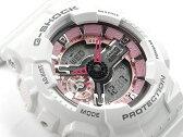 【ポイント2倍!!+送料無料!】G-SHOCK Gショック ジーショック カシオ CASIO 限定モデル S Series Sシリーズ PINK COLLECTION アナデジ 腕時計 ピンク ホワイト GMA-S110MP-7ACR GMA-S110MP-7A
