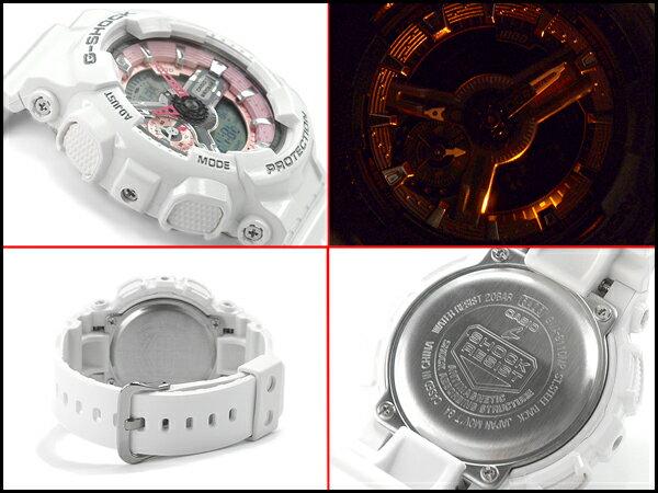 G-SHOCK Gショック ジーショック カシオ CASIO 限定モデル S Series Sシリーズ PINK COLLECTION アナデジ 腕時計 ピンク ホワイト GMA-S110MP-7ACR GMA-S110MP-7A