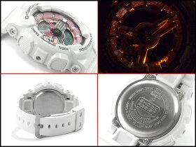 【ポイント2倍!!+全商品送料無料!!】G-SHOCKGショックジーショックカシオCASIO限定モデルSSeriesSシリーズPINKCOLLECTIONアナデジ腕時計ピンクホワイトGMA-S110MP-7ACRGMA-S110MP-7A