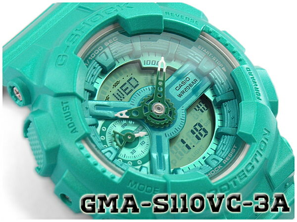 腕時計, メンズ腕時計 G-SHOCK G CASIO S Series S Vivid Color GMA-S110VC-3ACR GMA-S110VC-3A