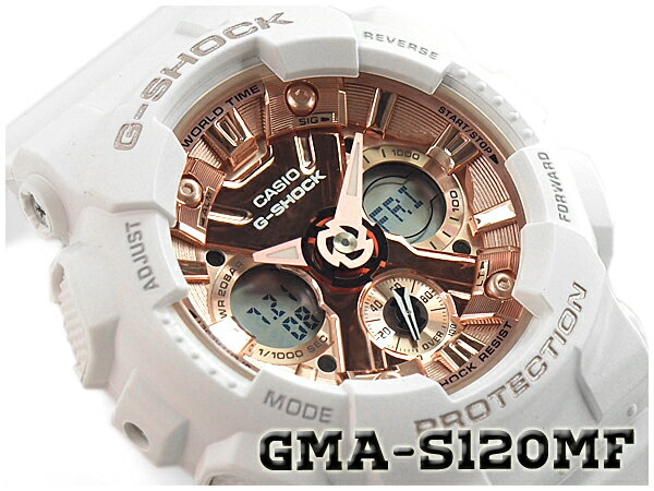 腕時計, レディース腕時計 G-SHOCK G CASIO S Series S GMA-S120MF-7A2CR GMA-S120MF-7A2