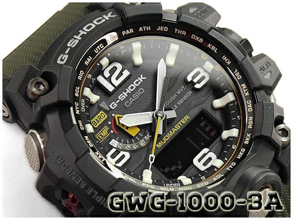 腕時計, メンズ腕時計 G-SHOCK G CASIO MUDMASTER GWG-1000-1A3DR GWG-1000-1A3
