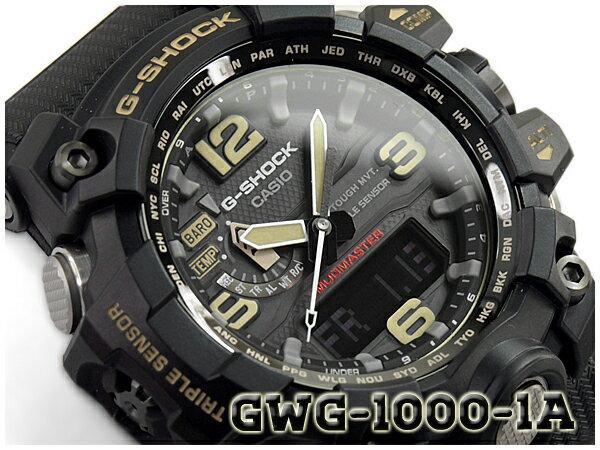 腕時計, メンズ腕時計 G-SHOCK G CASIO MUDMASTER GWG-1000-1ADR GWG-1000-1A