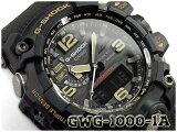 G-SHOCK Gショック ジーショック 逆輸入海外モデル カシオ CASIO MUDMASTER マッドマスター ソーラー 電波時計 メンズ 腕時計 ブラック GWG-1000-1ADR GWG-1000-1A【あす楽】