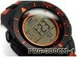 【ポイント2倍!+送料無料!】プロトレック PROTREK カシオ CASIO 逆輸入海外モデル ソーラー デジタル 腕時計 カモフラ オレンジ ブラック PRG-300CM-4DR PRG-300CM-4