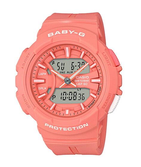 腕時計, レディース腕時計 BABY-G G BGA-240for running CASIO BGA-240BC-4AER BGA-240BC-4A