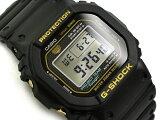 [外箱に破損有り]G-SHOCK Gショック ジーショック 35周年限定モデル 日本製 逆輸入海外モデル カシオ CASIO デジタル 腕時計 ブラック ゴールド DW-5035D-1BDR DW-5035D-1B【あす楽】