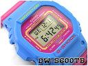 G-SHOCK Gショック ジーショック THROW BACK 1983 限定モデル 逆輸入海外モデル CASIO カシオ デジタル 腕時計 ピンク ブルー DW-5600TB-4BDR DW-5600TB-4B