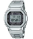 G-SHOCK Gショック ジーショック 35周年記念 限定モデル フルメタル 5000 カシオ CASIO スマートフォンリンク 電波ソーラー デジタル 腕時計 シルバー GMW-B5000D-1JF【国内正規モデル】