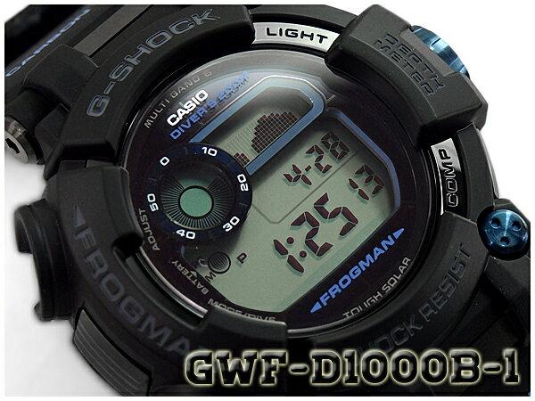 腕時計, メンズ腕時計 G-SHOCK G G FROGMAN CASIO GWF-D1000B-1CR GWF-D1000B-1