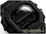 G-SHOCK Gショック ジーショック 逆輸入海外限定モデル カシオ デジタル ソーラー 腕時計 オールブラック GX-56BB-1DR GX-56BB-1【あす楽】