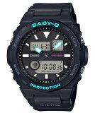 BABY-G ベビーG ベビージー G-LIDE ジーライド カシオ CASIO アナデジ 腕時計 ブラック ターコイズ BAX-100-1AJF【国内正規モデル】【あす楽】