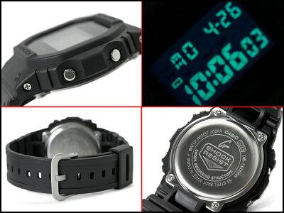 G-SHOCK Gショック カシオ 限定 Solid Colors ソリッドカラーズ デジタル 腕時計 オールブラック DW-5600BB-1 DW-5600BB-1DR【あす楽】・・・ 画像2