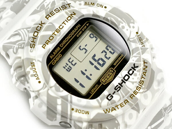 CASIO G-SHOCK white 65G-SHOCK G CASIO DW-5700SLG...