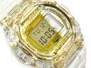 [外箱に少し破損有り]G-SHOCK Gショック ジーショック カシオ CASIO 日本製 35周年限定モデル GLACIER GOLD スティングモデル 逆輸入海外モデル デジタル 腕時計 クリアスケルトン ゴールド DW-5735E-7DR DW-5735E-7