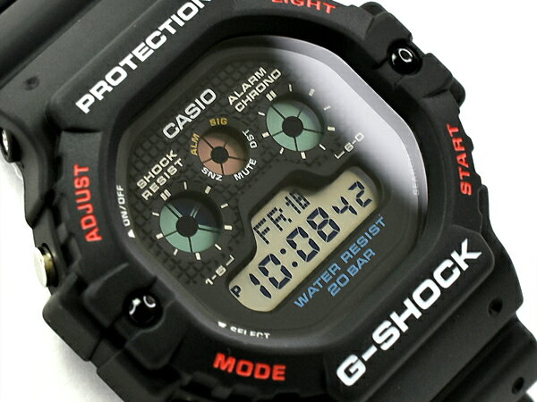 CASIO G-SHOCK Red watch G-SHOCK G CASIO 5900 DW-...