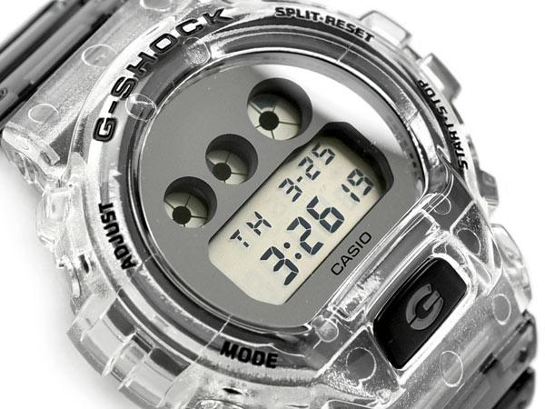 腕時計, メンズ腕時計 G-SHOCK G Clear Skeleton CASIO DW-6900SK-1DR DW-6900SK-1