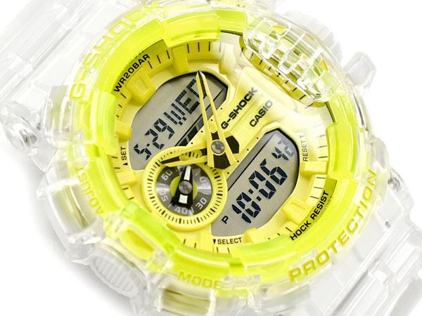 腕時計, メンズ腕時計 G-SHOCK G Clear Skeleton CASIO GA-400SK-1A9DR GA-400SK-1A9