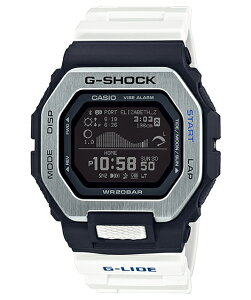 カシオ CASIO G-SHOCK G-LIDE Gライド ジーライド 2020夏モデル GBX-100-7JF サーファー サーフィン メンズ デジタル 腕時計 ブラック ホワイト Gショック ジーショック 【国内正規モデル】