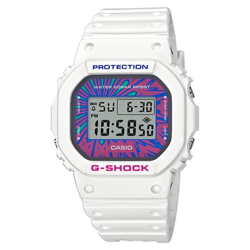 腕時計, メンズ腕時計 G-SHOCK DW-5600DN-7 Psychedelic Multi Colors CASIO ORIGIN 5600 G CASIO