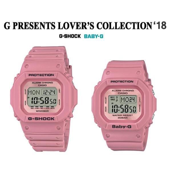 腕時計, ペアウォッチ CASIO Lovers Collection LOV-18B-4 LOV-18B-4DR 2018 G-SHOCK BABY-G