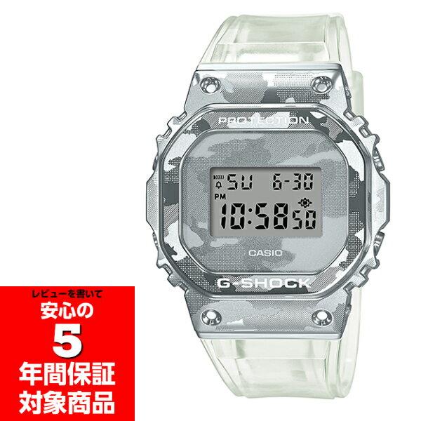 腕時計, メンズ腕時計 G-SHOCK GM-5600SCM-1 Skeleton Camouflage Series 5600 CASIO G