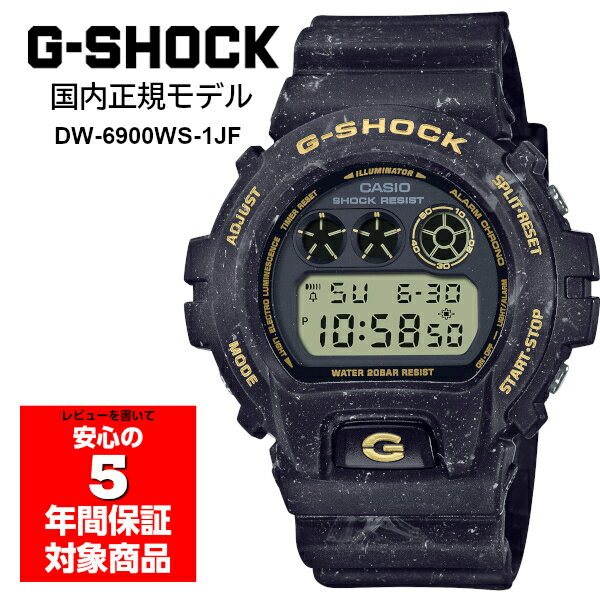腕時計, メンズ腕時計 G-SHOCK DW-6900WS-1JF G DW-6900 CASIO