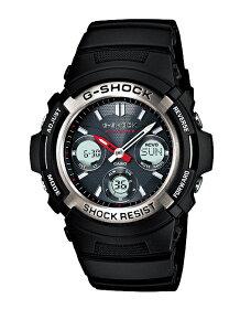 【送料無料!+ポイント2倍以上!!】G-SHOCKGショックジーショックCASIOカシオ国内正規モデル電波ソーラーアナデジ腕時計ブラックシルバーAWG-M100A-1AJF【FS_708-7】【F2】