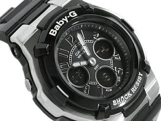 CASIO Casio baby G baby-g Casio baby G baby-g an analog-digital Watch Silver Black BGA-110-1B2DR