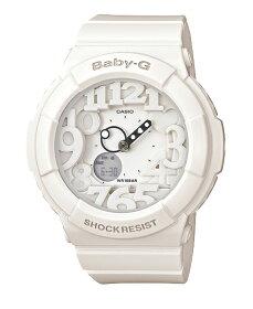 【全商品送料無料!!】ベビーGBaby-GカシオCASIOネオンダイアルシリーズアナデジ腕時計ホワイトBGA-131-7BJF【国内正規モデル】