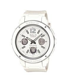 【送料無料!+ポイント2倍以上!!】【国内正規品CASIOBABY-G】カシオベビーG腕時計ベビーgbaby-gベビージーBigCaseビッグケースシリーズアナデジホワイトBGA-150-7BJF