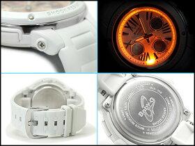 【送料無料!+ポイント2倍以上!!】【CASIOBaby-G】カシオベビーG逆輸入海外モデルレディースアナデジ腕時計ローズゴールドダイアルホワイトウレタンベルトBGA-152-7B2DR