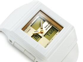 【送料無料!+ポイント3倍以上!!】【CASIOBaby-GCasket】カシオベビーG逆輸入海外モデルレディースアナデジ腕時計カスケットホワイトダイアルエナメルホワイトウレタンベルトBGA-200-7E4DR