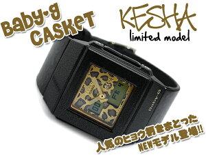 CASIO Baby-G カシオ ベビーG 腕時計 カスケット KE$HA(ケシャ) コラボ限定 アナデジ ヒョウ柄 ...