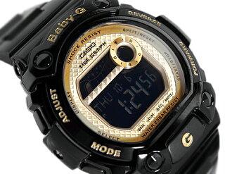CASIO baby-g Casio baby G G-LIDE G ride color play series baby-g digital watch black gold BLX-100-1CDR
