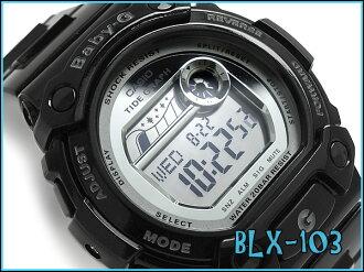 Reimportation model Casio baby G G-LIDE G ride lady's digital watch mirror dial black BLX-103-1DR fs3gm