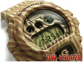 【ポイント2倍!!+全商品送料無料!!】CASIOG-SHOCKカシオGショックジーショック逆輸入海外モデルZEBRACamouflageSerie限定モデルデジタル腕時計ゼブラカモフラージュゴールドベージュDW-6900ZB-9CRDW-6900ZB-9【】