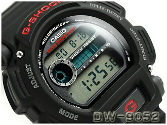 Casio G shock basic model digital watch overseas model black urethane belt DW-9052-1