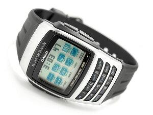 CASIO カシオ e-data bank データバンク ユニセックス腕時計 シルバー EDB-610-1【ポイント2倍!...