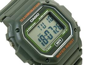 【送料無料!+ポイント3倍以上!!】CASIOカシオ逆輸入海外モデルスタンダードデジタル腕時計カーキグリーンF-108WH-3ACFF-108WH-3