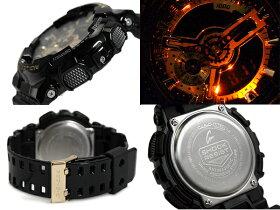 G-SHOCKGショックジーショックCASIOカシオBlack×GoldSeriesアナデジ腕時計ブラックゴールドGA-110GB-1ADR