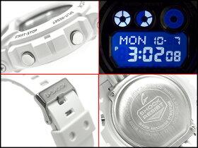 【CASIOG-SHOCK】カシオGショックメンズ腕時計ビッグケースホワイト×メタリックシルバーGD-X6900FB-7JF【国内正規品】