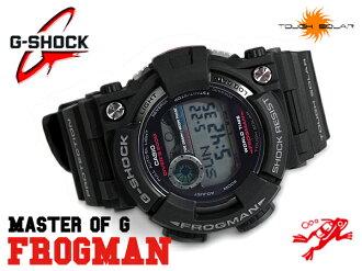 + G shock 6600 g-shock CASIO Casio FROGMAN Frogman diver's solar digital watch black grey GF-1000-1 GF-1000-1DR
