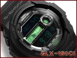 Casio G shock 30th anniversary limited model g-shock x model チャンネルアイランドコラボ digital watch black / green GLX-150CI-1JR